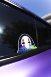 NO-FACE HOLOGRAPHIC VINYL STICKER *LIMITED*
