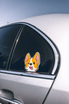 CORGI HOLOGRAPHIC VINYL STICKER