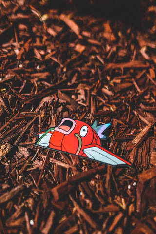 MAGIKARP HOLOGRAPHIC VINYL STICKER *LIMITED*