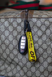 Custom 'Mellow Yellow' Keychain