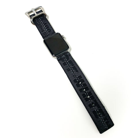 Custom 'BLACK OW' Apple Watch Band