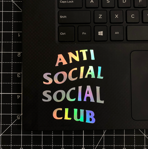 'Anti' Vinyl Sticker
