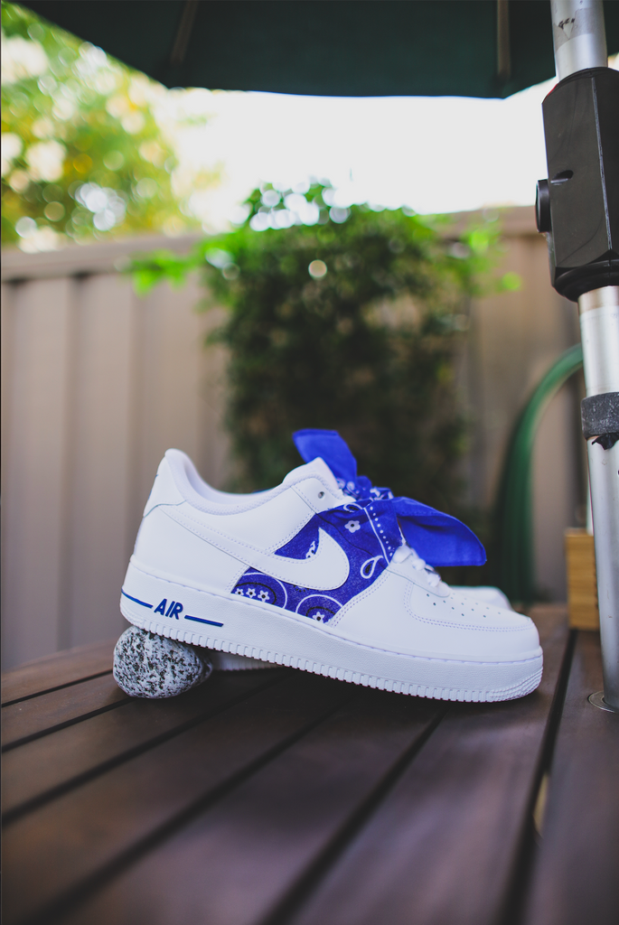 air force 1 con bandana