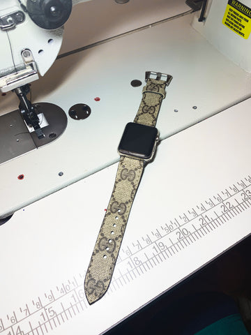 Custom 'G' Apple Watch Band