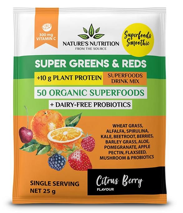 Citrus Berry Sachets