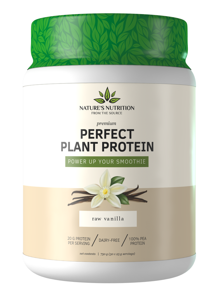 Raw Vanilla Perfect Plant Protein