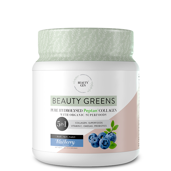 Beauty Greens® Collagen Blueberry