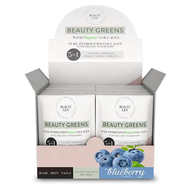 Beauty Greens® Collagen Blueberry Sachets