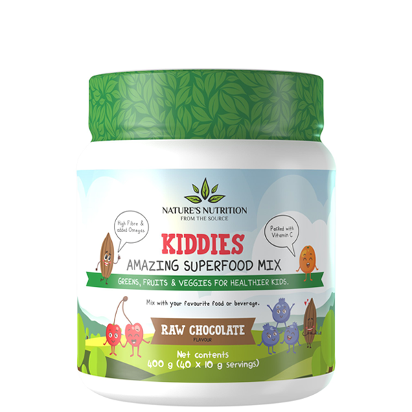Kiddies Superfoods Drink Mix Raw Chocolate