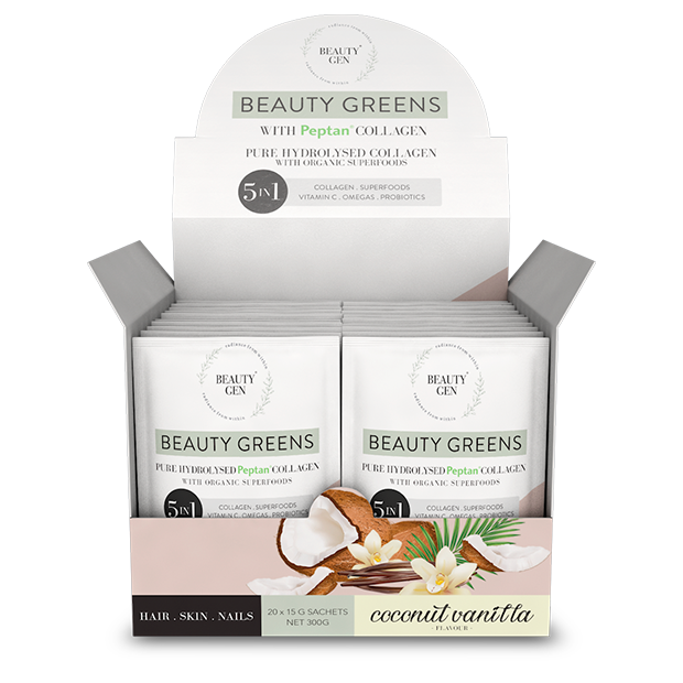 Beauty Greens® Collagen Coconut Vanilla Sachets
