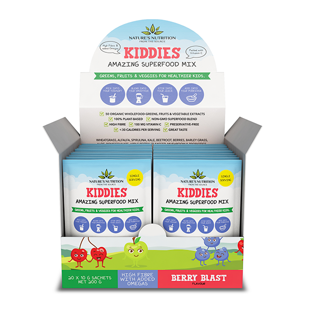 Kiddies Superfoods Drink Mix Berry Blast Sachets