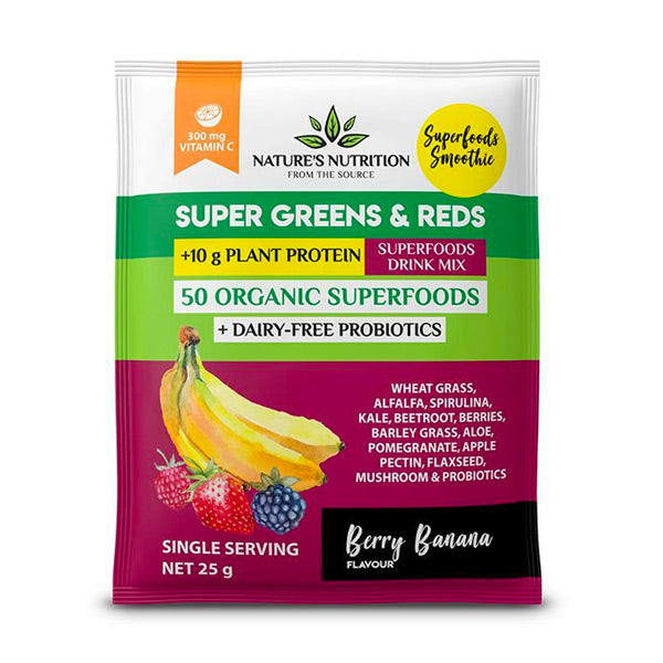 Berry Banana Sachets