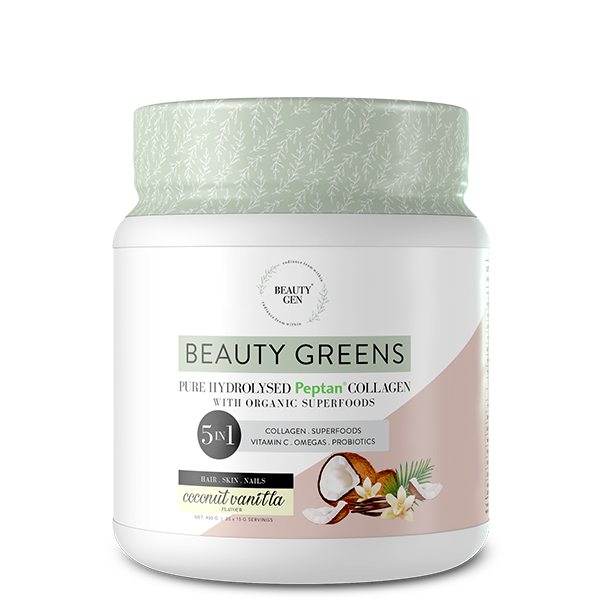 Beauty Greens® Collagen Coconut Vanilla