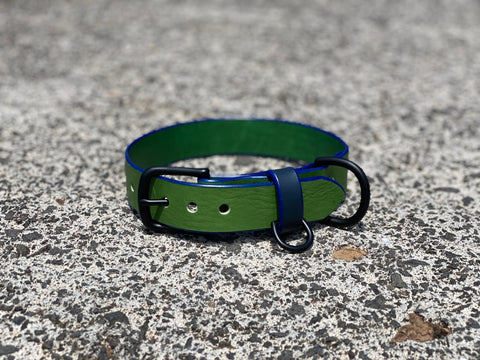 Last State Leather - Custom Order - Large Leather Dog Collar