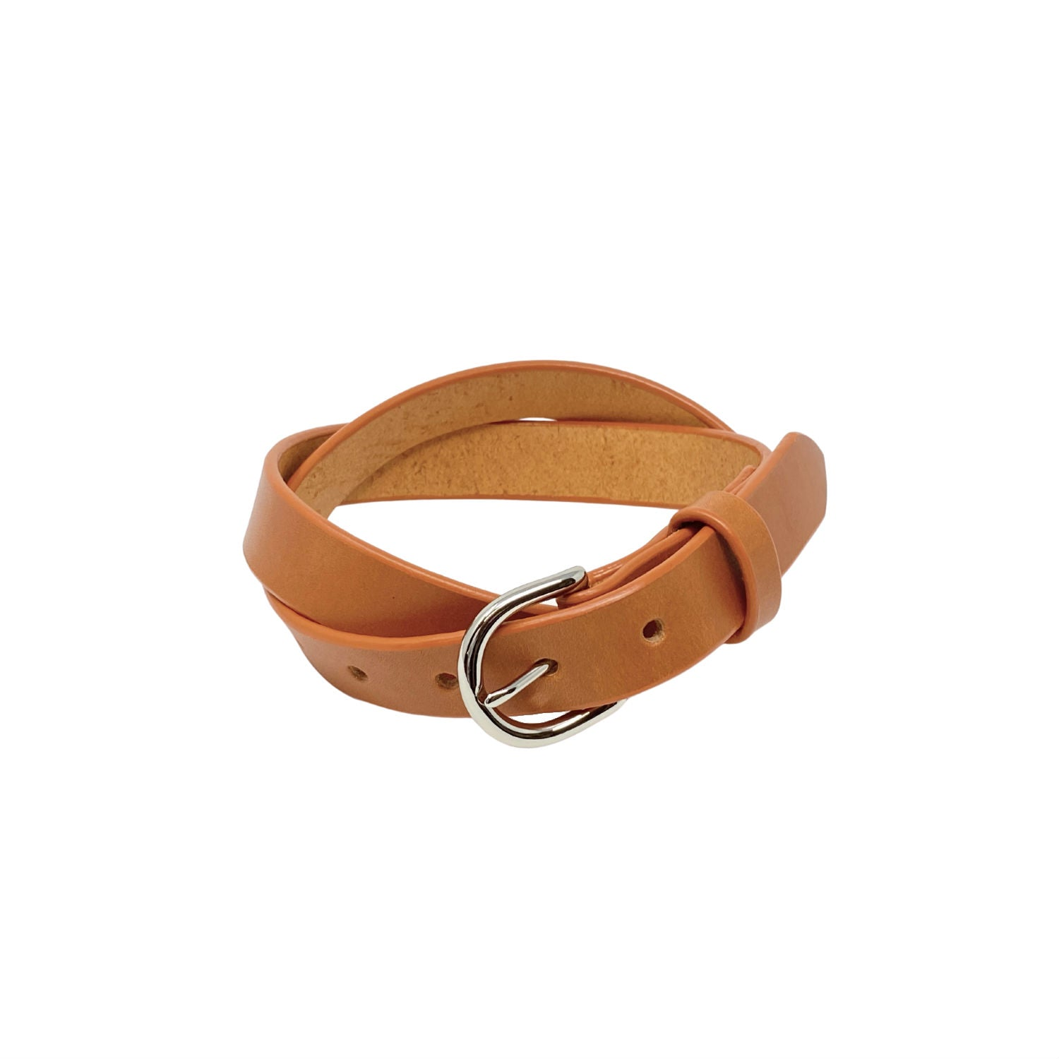 "Last State Leather - Everyday 1"" Belt - Tan/Nickel"