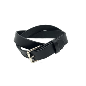 "Last State Leather - Mid 1.25"" Belt - Black/Nickel"