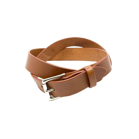 "Last State Leather - Mid 1.25"" Belt - Chestnut/Nickel"