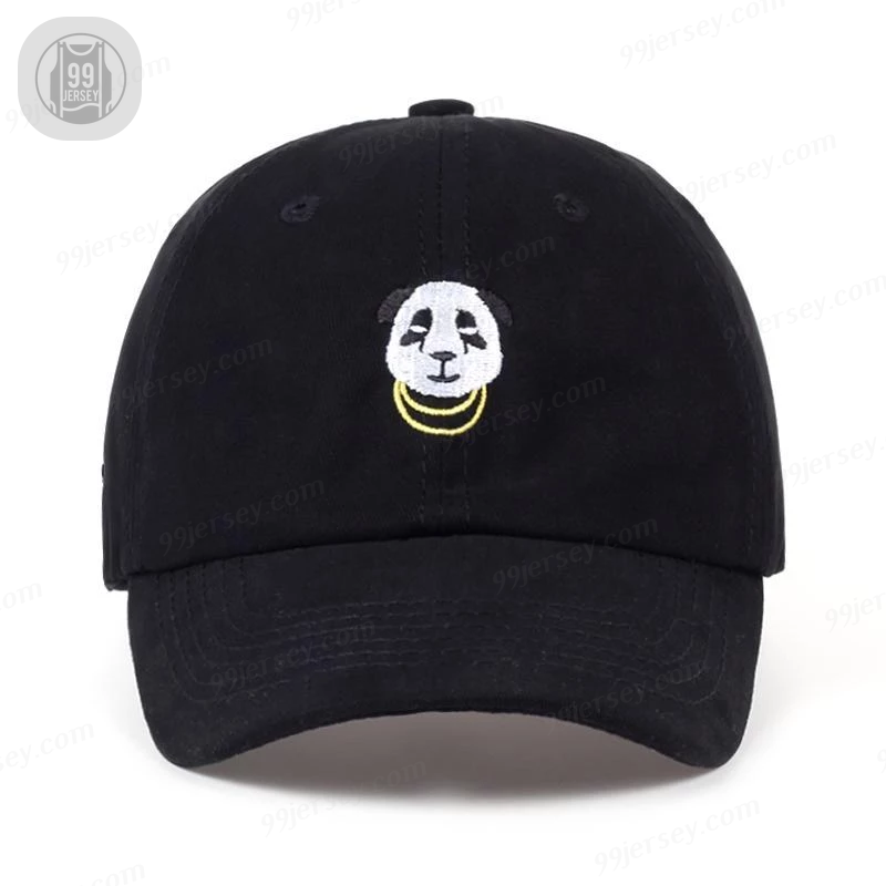 PANDA CHAINS Dad Hat Stitched Baseball Cap