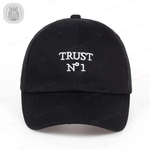 TRUST NO ONE Dad Hat Stitched Baseball Cap Unisex