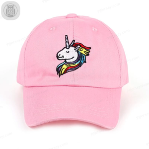 UNICORN Dad Hat Stitched Baseball Cap Unisex