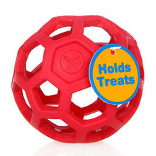 Load image into Gallery viewer, HOOPET Drain Food Ball Dog Toy Natural Non-Toxic Rubber Teddy Golden Dog Geometric Toy Ball Bite-Resistant Teeth 3Colors