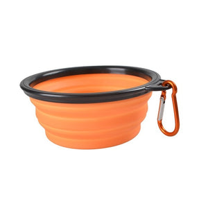Travel Silicone & Collapsible Bowl for Dogs & Cats