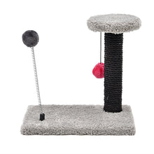 Load image into Gallery viewer, Lovely Cat Toys Spring Ball Toys Cat Tree Kitten Climbing Frame Multi-layer Cat Hanging Balls Cat Scratch Board Condo Furniture