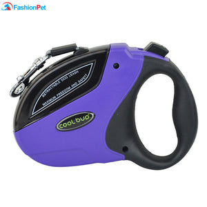 High Quality 5M 50KG Pet Retractable Leash ABS Large Medium Dog Automatic Walking Leash Lead