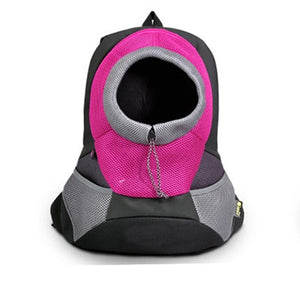 Outdoor Pet Dog Carrier Pet Backpack Bag Portable Travel Bag Pet Dog Front Bag Mesh Backpack Head Out Double Shoulder