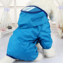 Load image into Gallery viewer, Dog Clothes for Dogs Raincoat Waterproof Overalls Goods for Pets Poncho Rain Umbrella Coats for Chihuahua CW023