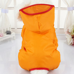 Dog Clothes for Dogs Raincoat Waterproof Overalls Goods for Pets Poncho Rain Umbrella Coats for Chihuahua CW023
