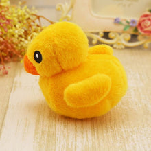 Load image into Gallery viewer, Lovely  Dog Toys Pet Puppy Chew Plush Cartoon Animals Squirrel Cotton Rope OX Shape Bite Toy Duck Shaped Squeak Toys