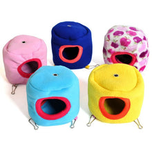 Load image into Gallery viewer, 10cmX10cm Small Pet Cotton Warm Hammock Bed House Cage For Hamster Rat Pretty Gifts