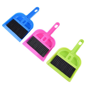 Cleaning Kit hamster Dustpan Broom Sweep Kit for small Pets squirrel Guinea pig Chinchilla ferret rabbit clean tool equipment