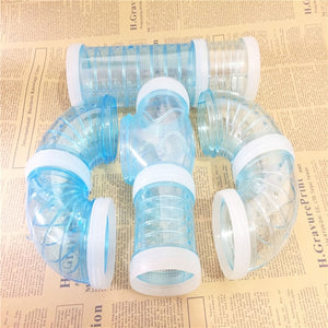 2018Hot sell Free shipping Multi-Style hamster tunnel fittings Transparent acrylic cage Hamster Accessories cheap Small pet toys