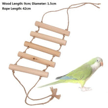 Load image into Gallery viewer, Pet Bird Toys Parrot Toys Parakeet Budgie Cockatiel Bird Cage Hammock Swing Climb Ladder Hanging Chew Toys For Birds Parrots