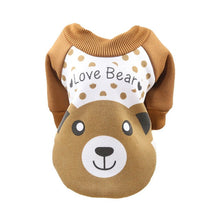 Load image into Gallery viewer, Cheap Pet Dog Clothes For Dogs Pets Clothing Small Medium Dog Shirts Winter Pet Hoodies For Dogs Costume Chihuahua Cat Clothing
