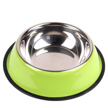 Load image into Gallery viewer, BIBSS Dog Bowl Travel Pet Dry Food Bowls for Cats Dogs Pink Dog Bowls Outdoor Drinking Water Fountain Pet Dog Dish Feeder Goods