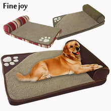 Load image into Gallery viewer, House Sofa Kennel Square Pillow For Large Dogs