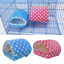 Load image into Gallery viewer, 2018 Plush Soft Guinea Pig House Bed Cage for Hamster Mini Animal Mice Rat Nest Bed Hamster House Small Pet Products
