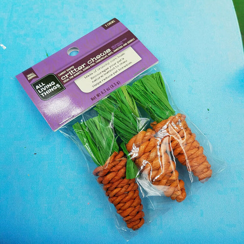 3pcs/set Rabbit Chew Toys Carrot Shaped Guinea Pig Rattan Chew Toys For Rat Rabbits Tooth Cleaning Small Animals Pet Toy