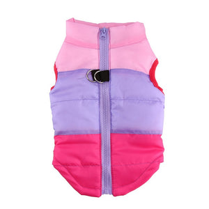 Warm Pet Clothing Jackets for Small Dogs or Puppies
