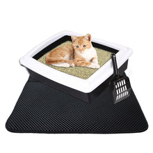Load image into Gallery viewer, Large Size Semi-closed Cat Litter Box Pet Cleaning Products Cat Litter Toilet Anti-Splash Bedpan Pet Toilet Cat Bedpans Reusable