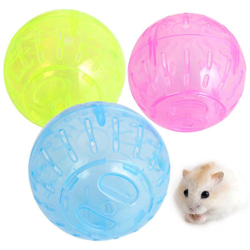 ISHOWTIENDA Lovely Pet Rodent Mice Jogging Gerbil Rat Balls For Hamster #7