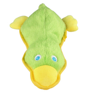 Squeaky Dog Toys Durable Plush Duck Shape Dog Toys Dogs Pets Christmas Dog Toys Dog Training Toys Puppy Toys for Chewing