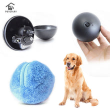 Load image into Gallery viewer, 4 Color Set Electric Toy Ball Dog Cat Toy Automatic Pet Plush Ball Activation Automatic Ball Chew Plush Floor Clean Toys Pet