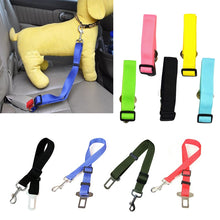 Load image into Gallery viewer, Pet Dog Collars Leads Vehicle Car Pet Dog Seat Belt Car Seatbelt Harness Lead Clip Safety Lever Auto Traction Products 45