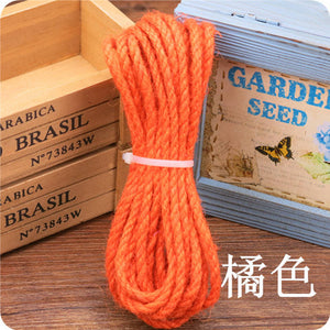 [MPK Sisal Ropes] 10 Meter  5mm diameter for Cat Tree, Cat toy 12 Colors Available Now