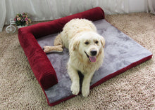 Load image into Gallery viewer, Warm Pet Dog Bed Sofa, Soft and Comfortable and Removable and Washable