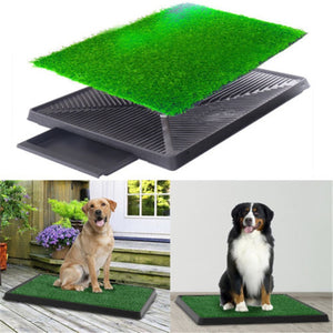 Dog Potty home Training Toilet Pad Grass Mat